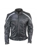 Armored Womens Leather Jacket