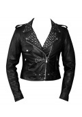 Keira Knightley Domino Womens Leather Jacket