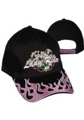 Lady Rider Black Cap