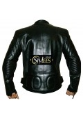Limo Padded Cowhide Motorcycle Leather Jacket