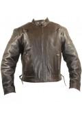 Retro Brown Premium Speedster Motorcycle Jackets