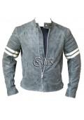 Vintage Fight Club Leather Jacket