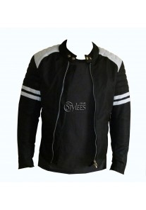 Fight Club Mayhem Black Textile Jacket