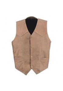 Gents Classic Brown Vest Waistcoat