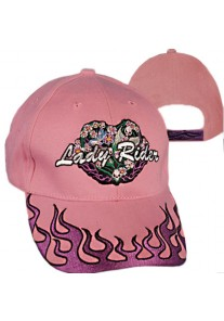 Lady Rider Pink Cap