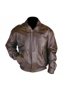Men's Classic Aviator Brown Bomber Jackets