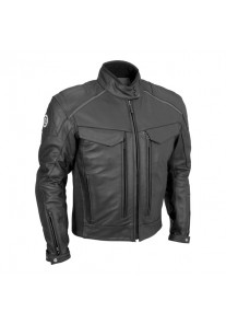 Premium Leather Mens Jacket