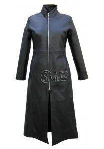 Trinity Matrix Black New Rock Gothic Leather Jacket
