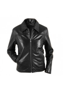 Classic Casual Womens Fashion Leather Jacket