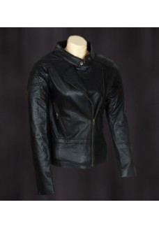 Angelina Jolie Wanted Black Leather Jacket