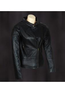 Angelina Jolie Wanted Black Leather Jacket