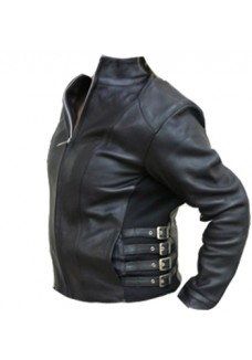 Buckle Motorcycle Leather Jackets