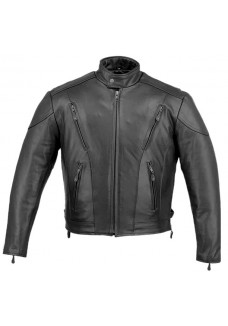 Classic Men's Cruiser Vented Premium Motorcycle Jackets