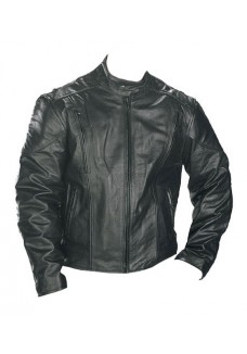Classic Men's Premium Top Grade Leather Speedster Motorcycle Jacket with Zip-Out Lining