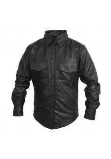 Leather Fashion Shirt