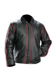Men's Classic Jacket with red Piping
