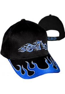 Flame Bike Cap