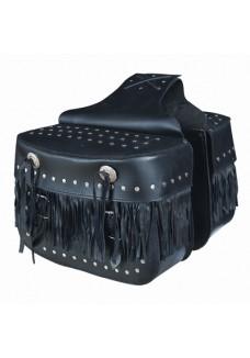 Fringe Saddle Bag