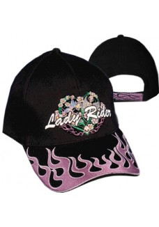 Lady Rider Black Cap