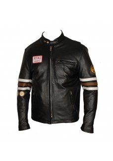 M.D. Gregory House Leather Jacket