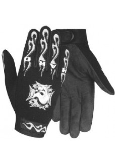 Mohawk Mechanical Skull Gloves