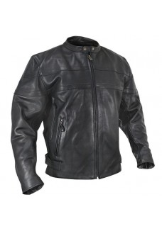 Naked Thick Cowhide Mens Classic Leather Riding Jacket