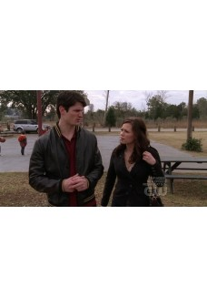 One Tree Hill Nathan Scott Bomber Leather Jacket