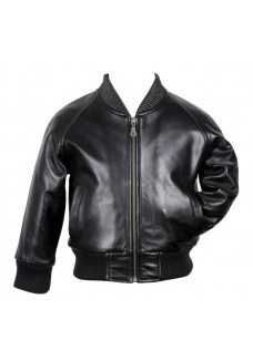 Premium Soft Lambskin Bomber Leather Jacket