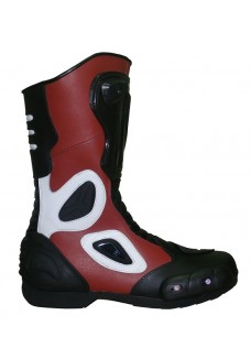 Black and Red Racing Boots