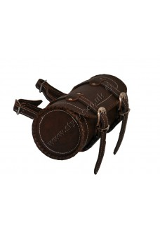 Retro Brown Motorcycle Leather Tool Bag