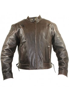 Retro Brown Premium Speedster Motorcycle Jackets