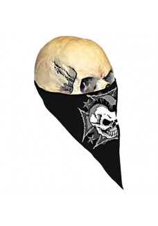 Skull & Ironcross Neck Warmer (Textile)
