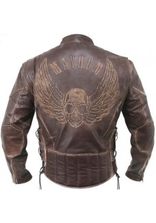 brown-mayhem-skull-racer-leather-jacket