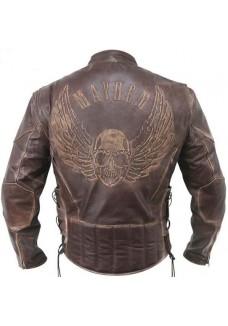 brown-mayhem-skull-racer-leather-jacket
