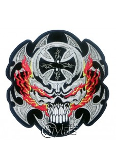 Skull Blades Patch
