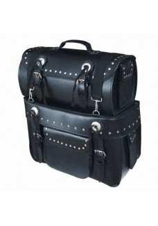 Split Leather Back Bag