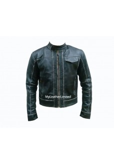 Shia Labeouf Transformers 3 Bomber Leather Jacket