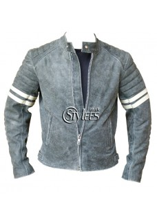 Vintage Fight Club Leather Jacket