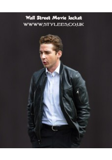 Wall Street 2 Money Never Sleeps Shia LaBeouf Leather Jacket