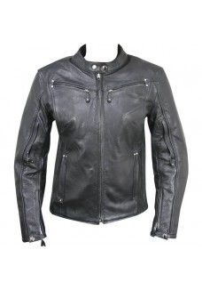 Women's Armored Leather Motorcycle