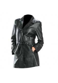 Women's Black Trench coat Size M/2XL