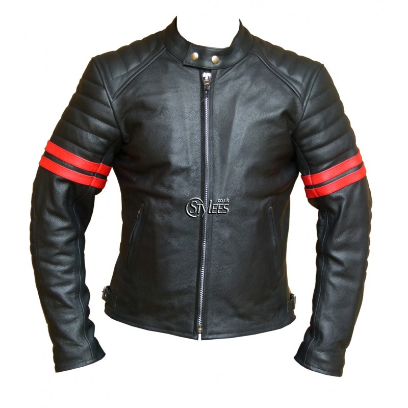 red-striped-cafe-racer-leather-jacket