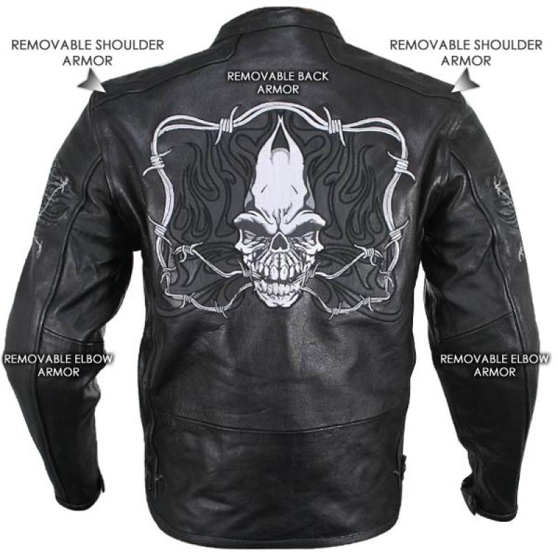 Cruiser Armored Motorcycle Jacket